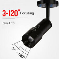 Industrial zoom led ceiling light 3W 7W Cree LED spotlights zoomable lighting