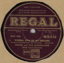 TROISE & THE MANDOLIERS - Vienna, City Of My Dreams 78