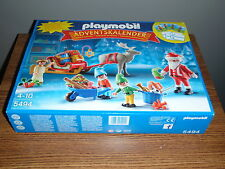 PLAYMOBIL ADVENT CALENDAR 5494 SEALED PLAY MOBIL