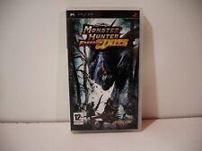 Monster Hunter Freedom Unite MHFU Playstation Portable PSP Sony Pal Euro Fr