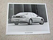 1993 LEXUS GS300 ORIGINAL PRESS PHOTO
