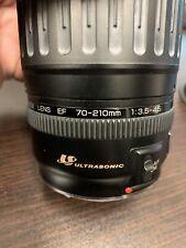 Canon 70-210mm f/3.5-4.5 Usm Ultrasonsic Canon Ef-Mount Auto Focus Zoom Lens