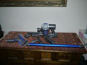 DYSON V6 Fluffy Stick Vacuum Cleaner complete with additional accessories