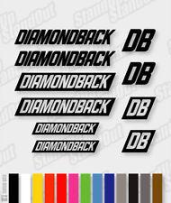 DIAMONDBACK Die-cut Decal Sticker sheet (cycling, mtb, bmx, bike, frame) - V5