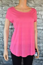 New Trespass Brea Performance Sports T-Shirt Top Quick Drying Pink Size 12