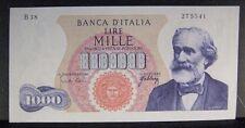 "1962 Italy ""Banca D'Italia"" 1,000 Lire Note High Grade ** FREE U.S SHIPPING **"