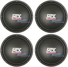 "4) MTX Audio TN12-02 400W Peak 12"" Terminator Series Single 2 ohm Car Subwoofer"