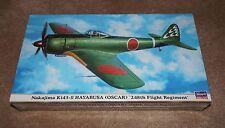 Hasegawa Nakajima Ki43-II Hayabusa Oscar 248th Regiment 1/48 #09508 Sealed