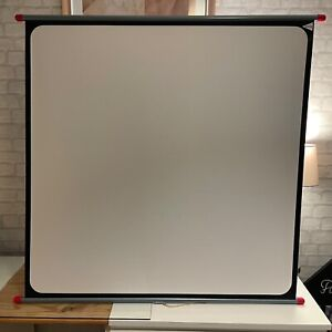 Boots Simplex Projector Screen 40 x 40 inch with Case and Stand