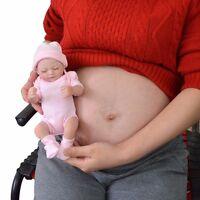"11""Reborn Baby Doll Full Body Soft Vinyl Silicone Lifelike Newborn Girl Toy Gift"