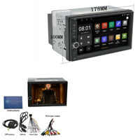 """7 """"HD Touch Screen 2Din Auto-Stereo GPS WIFI Radio MP5 Spieler Android 6.0 TPMS"""