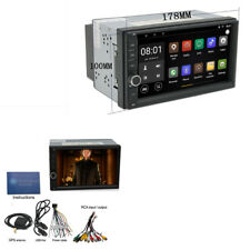 "7 ""HD Touch Screen 2Din Auto-Stereo GPS WIFI Radio MP5 Spieler Android 6.0 TPMS"