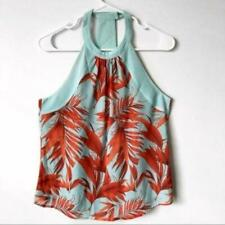 H&M   High Neck T-Back Tank Tropical Size 6 (S)
