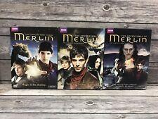 The Adventures Of Merlin BBC TV Show Season 1 2 3 DVD Set Bundle Lot 1-3