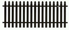 PICKET POWDERCOATED STRONG ALUMINIUM GARDEN FENCING 2200mm x 900mm Custom Color