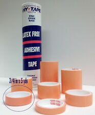 "Hy-Tape Pink Tape Medical Waterproof Surgical Tape 3/4"" x 5 yd, Pack of 2 Rolls"