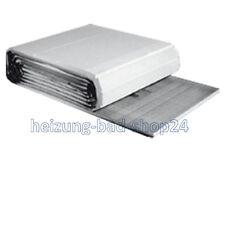 12m² Buderus Verbundplatte für Fußbodenheizung 20mm