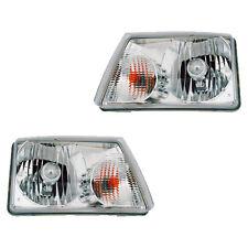 Fits 2001-2009 Ford Ranger Driver + Passenger Headlight Lamp Assembly 1 Pair