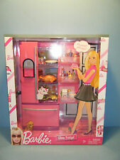 2009 BARBIE GLAM FRIDGE PLAYSET #N4898  *NEW*