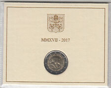 2 EURO VATICANO VATICAN  2017 FDC 1950° MARTIRIO Santi Pietro e Paolo UNC ZECCA