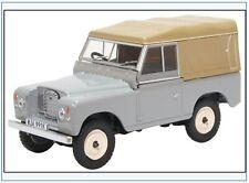 LR3S003 Land Rover Series III SWB Pritsche/Plane,hellgrau,Oxford 1:43,NEU 2/20 &