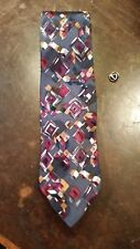 DANIEL ADAM PINK GRAY ABSTRACT  DESIGNER MENS SUIT NECKTIE FREE SHIPPING