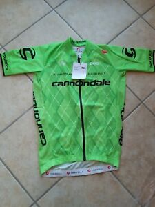 Trikot Cannondale Pro Cycling Team Castelli Größe M Team 2.0