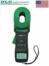 DLG DI-120A Clamp On Ground Earth Resistance and Leakage Current Tester with USB