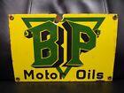 Old+vintage+BP+MOTOR+OILS+porcelain+metal+sign+dealership+service+gas+oil+