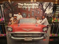 The Guess Who – So Long, Bannatyne     Vintage  LP  **see all pictures**
