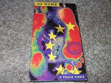 U2 NUMB rare 1993 3 track VHS video tape Zooropa