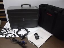 Sharp LCD Projector XG-E630U Bundle Remote 2 VGA Cables Manual And Carry Bag