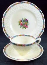 Crown Ducal CHARM Salad Plate + Cup & Saucer Set 7496 GREAT CONDITION
