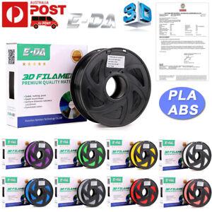 E-DA 3D Printer Filament PLA+/ PETG/ABS/TPU 1.75mm Accuracy 2.2 LBS (1KG) Spool
