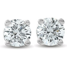 0ef404238 Stud White Gold Round 0.25 - 0.32 Fine Diamond Earrings for sale | eBay