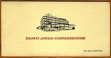 Costa Rica Specimen Set 1;5;10;20 ND (L.1917) 1963 aUNC > Rare in the folder