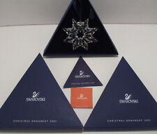Swarovski  Christmas Ornament 2003   MINT IN BOX / COA