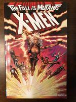X-Men The Fall Of The Mutants Marvel Comics TPB Unread