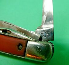 Very Early Wenger 92mm Farmer Swiss Army Knife fiber scales