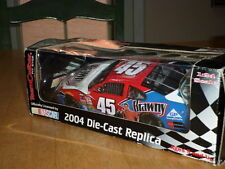 Nascar - (#45) Kyle Petty - Stock Car, Die-Cast Metal Factory Built Toy, 1:24