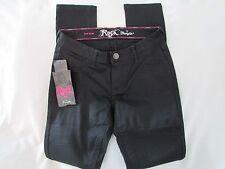 "Ladies ""Rock 47"" Size 31x33, Black, Skinny Leg, Low Rise, Ultra Soft, Pants"