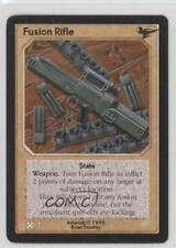 1995 Shadowfist Collectible Card Game Limited Base Set #NoN Fusion Rifle 2ts