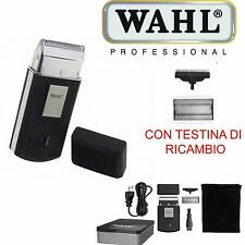 WAHL MOBILE SHAVER RASOIO ELETTRICO CORDLESS RASATURA BARBA 3615-0471