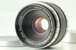 [MINT] Canon 35mm F/2.8 LTM L39 Leica Screw Mount Lens From Japan 269