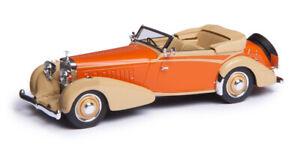 NEW  Esval 1934 Hispano Suiza J12 Cabriolet Vanvooren Resin Model 1:43 Top Down