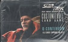 STAR TREK CCG : Q-CONTINUUM BOOSTER BOX - 3x BOX LOT
