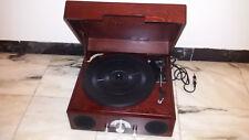 GIRADISCHI DE LUXE 33 e 45 giri portatile con RADIO AM FM  Vintage retro
