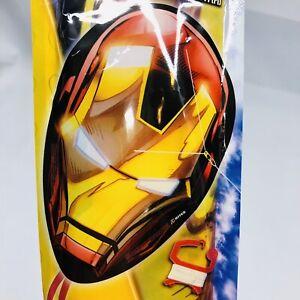 "NEW 1ct IRON MAN 20"" Poly Face Kite + Skytail & Line X KITES Marvel Avengers"