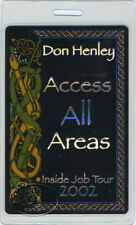 Don Henley 2002 Laminated Backstage Pass The Eagles