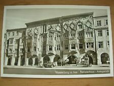VINTAGE POSTCARD DISTRICT COURT HOUSE - WASSERBURG - GERMANY  RP